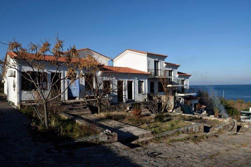 Aufbau Flüchtlingsprojekt »Hope Center«, Lesbos, Griechenland